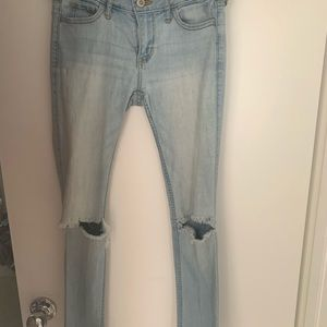 Light Wash Hollister Jeans